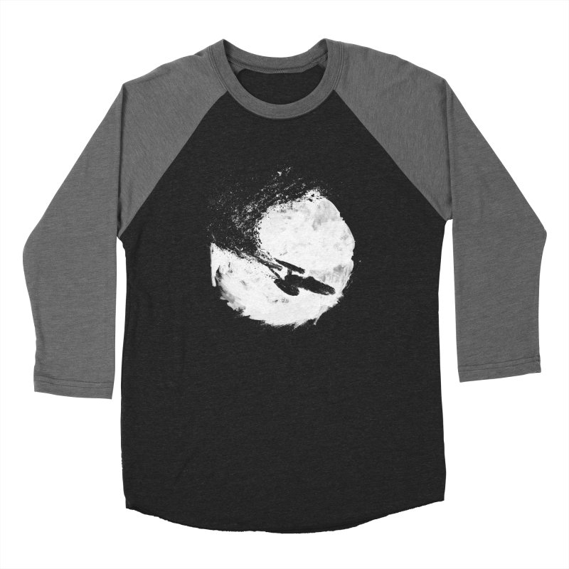 To Boldly Go... Men's Baseball Triblend Longsleeve T-Shirt by PandaBacon's Artist Shop