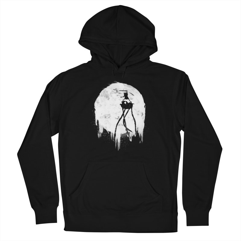 Midnight Adventure Men's French Terry Pullover Hoody by PandaBacon's Artist Shop
