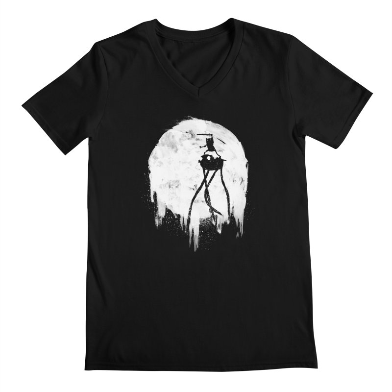 Midnight Adventure Men's Regular V-Neck by PandaBacon's Artist Shop