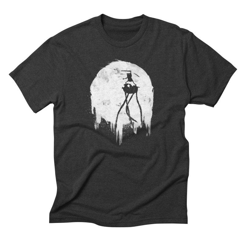 Midnight Adventure Men's Triblend T-shirt by PandaBacon's Artist Shop