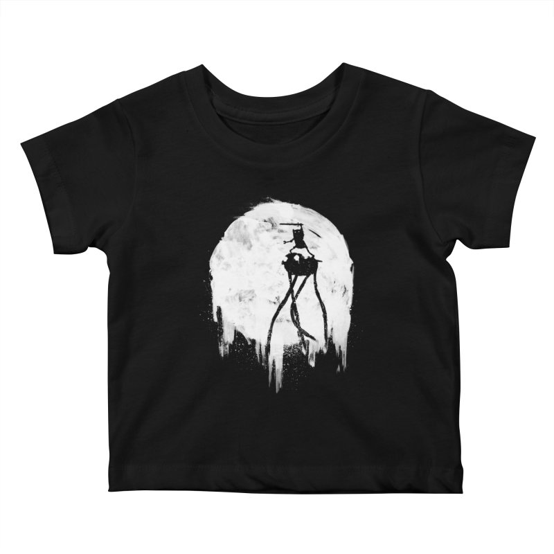 Midnight Adventure Kids Baby T-Shirt by PandaBacon's Artist Shop