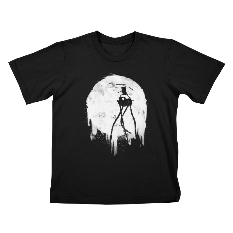 Midnight Adventure Kids T-shirt by PandaBacon's Artist Shop