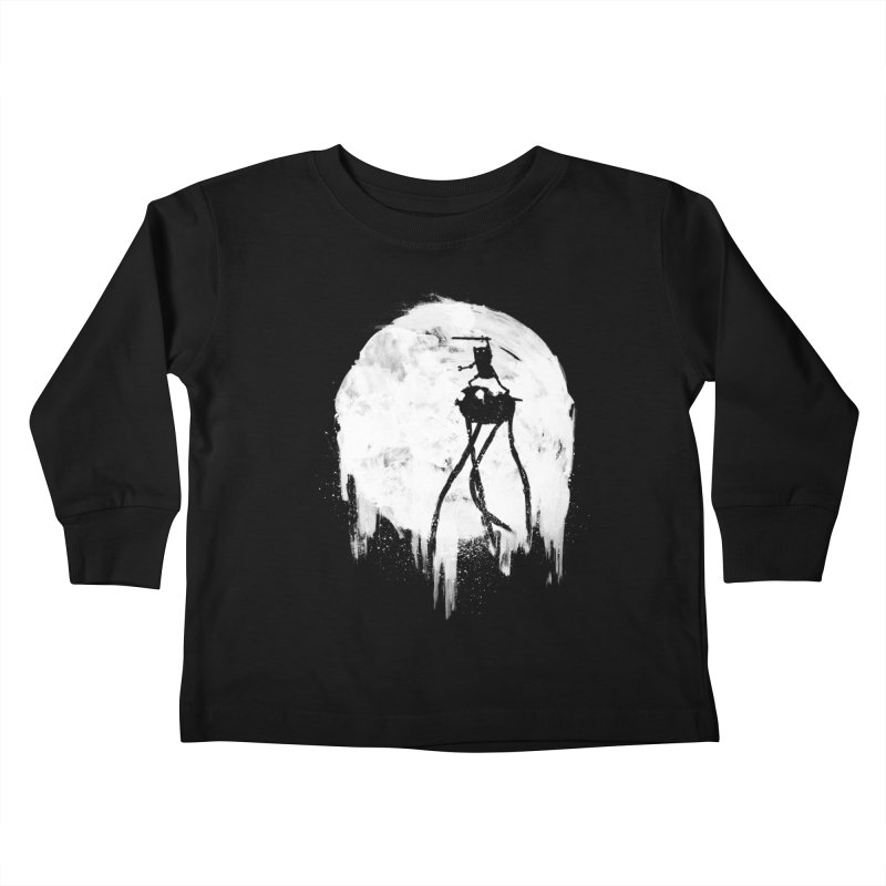 Midnight Adventure Kids Toddler Longsleeve T-Shirt by PandaBacon's Artist Shop