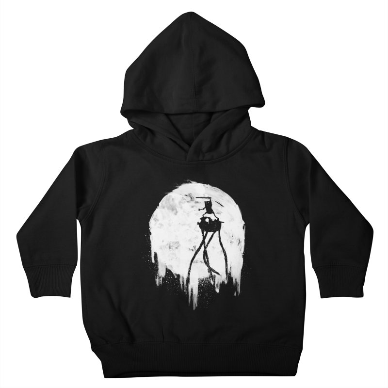 Midnight Adventure Kids Toddler Pullover Hoody by PandaBacon's Artist Shop