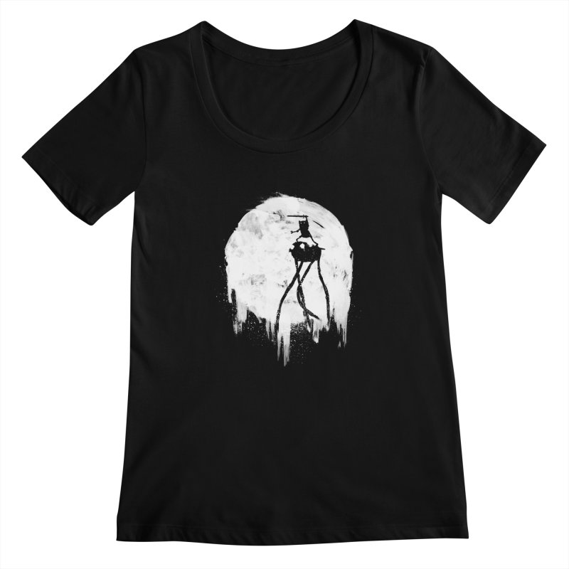 Midnight Adventure Women's Scoopneck by PandaBacon's Artist Shop