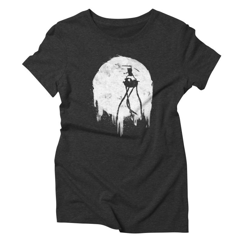Midnight Adventure Women's Triblend T-Shirt by PandaBacon's Artist Shop