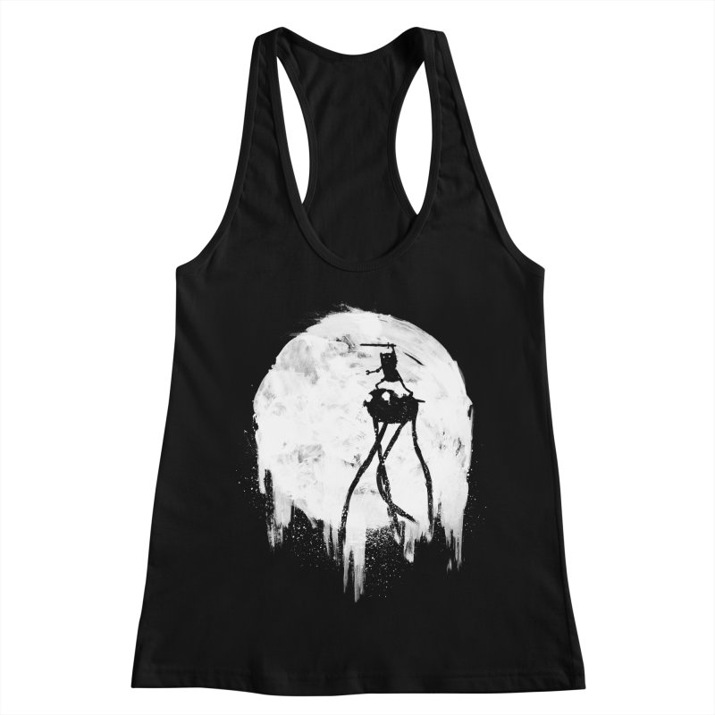 Midnight Adventure Women's Racerback Tank by PandaBacon's Artist Shop