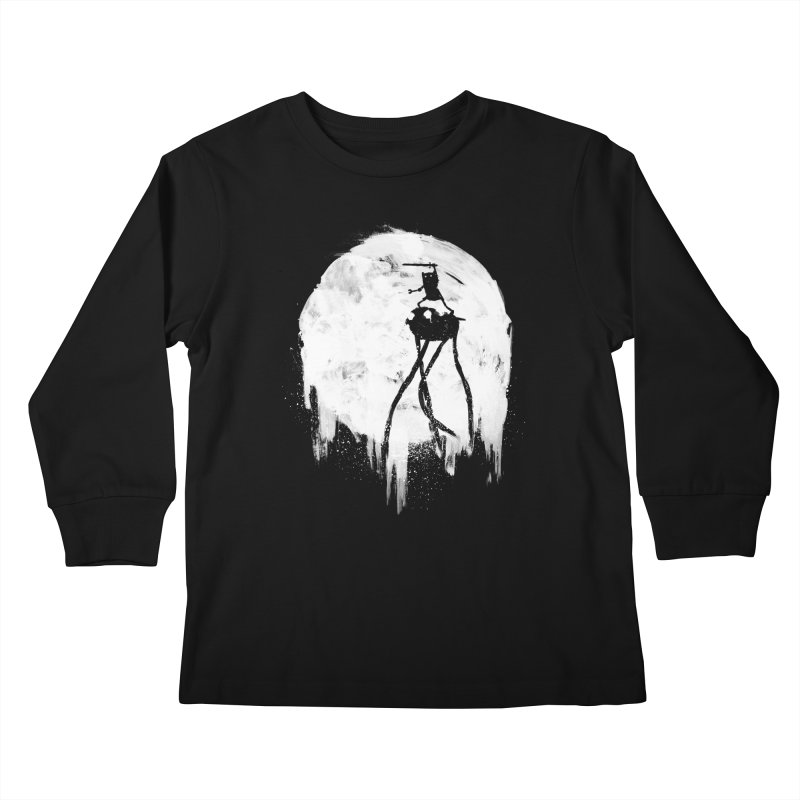 Midnight Adventure Kids Longsleeve T-Shirt by PandaBacon's Artist Shop