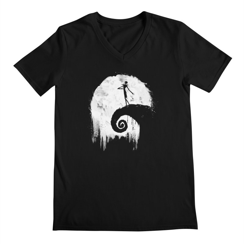 All Hallow's Eve Men's V-Neck by PandaBacon's Artist Shop