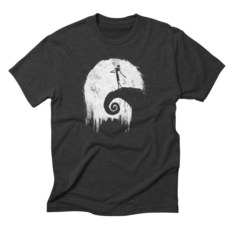 All Hallow's Eve Men's Triblend T-shirt by PandaBacon's Artist Shop