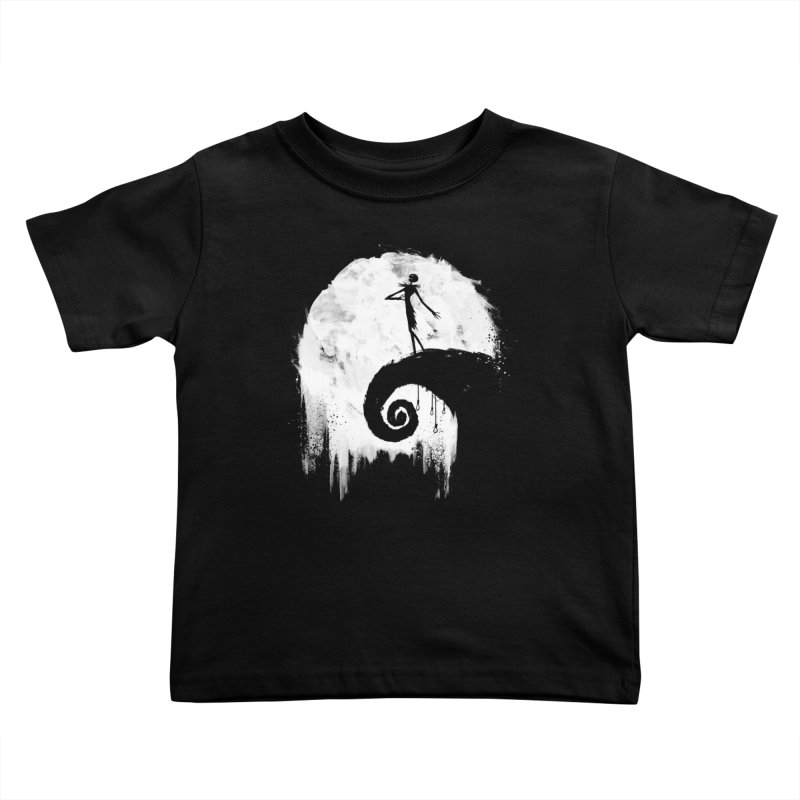 All Hallow's Eve Kids Toddler T-Shirt by PandaBacon's Artist Shop