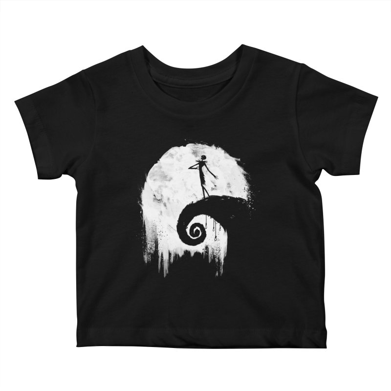 All Hallow's Eve Kids Baby T-Shirt by PandaBacon's Artist Shop