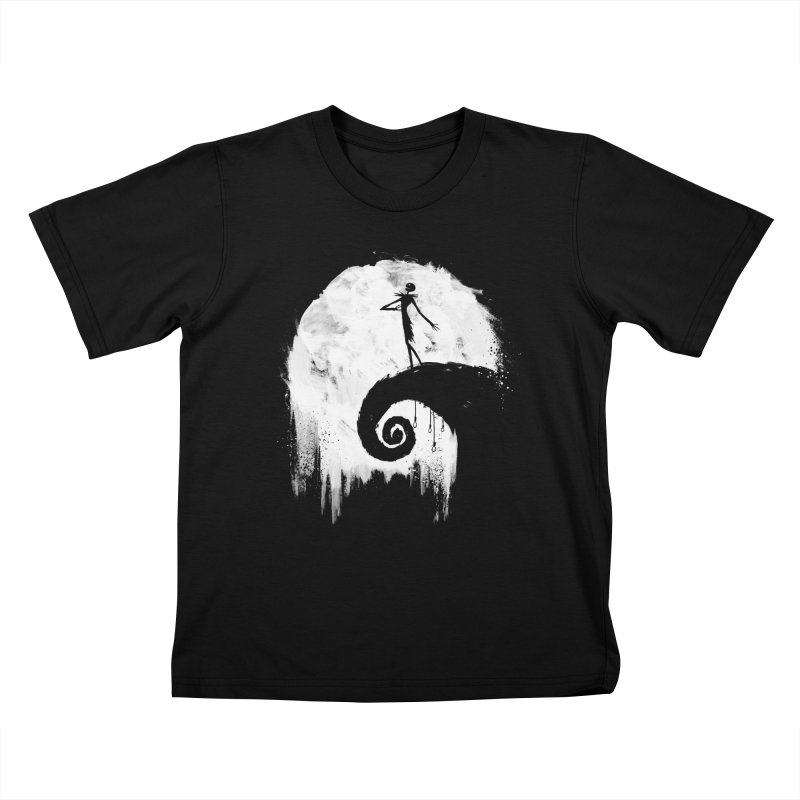All Hallow's Eve Kids T-shirt by PandaBacon's Artist Shop
