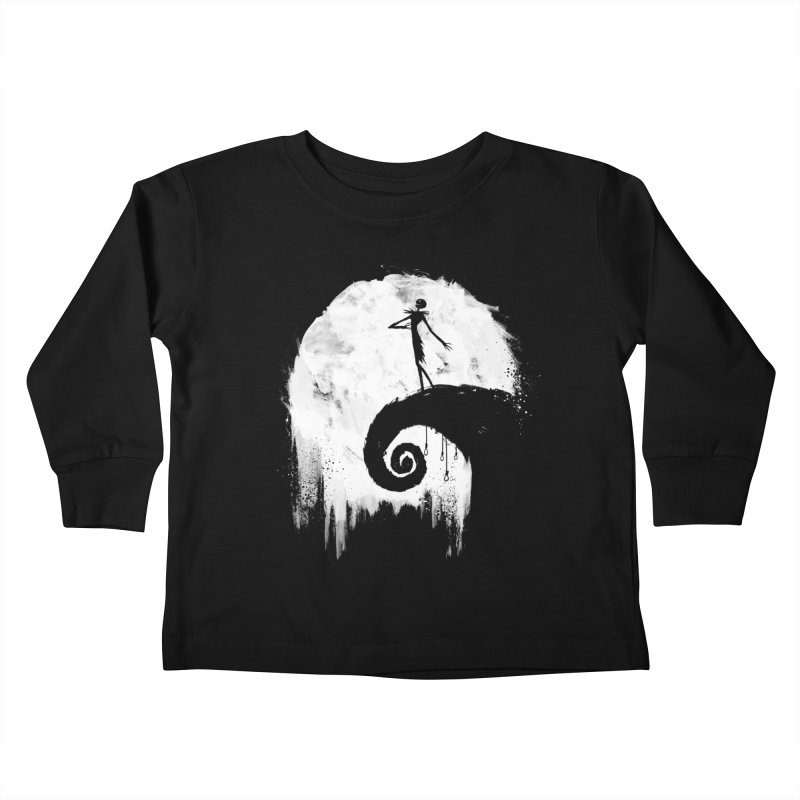 All Hallow's Eve Kids Toddler Longsleeve T-Shirt by PandaBacon's Artist Shop
