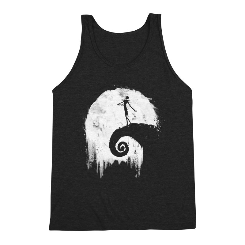 All Hallow's Eve Men's Triblend Tank by PandaBacon's Artist Shop