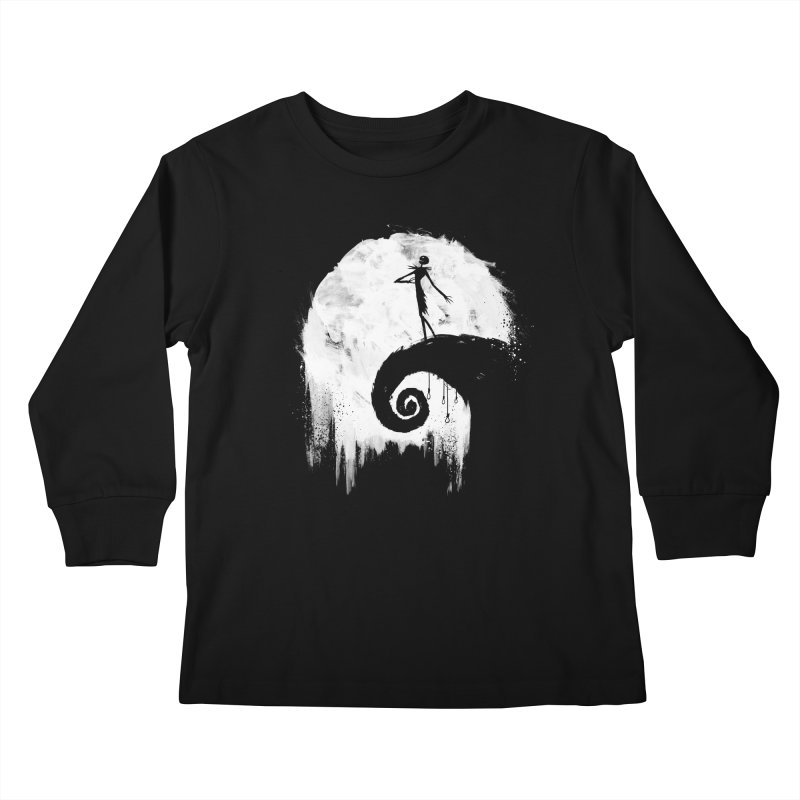 All Hallow's Eve Kids Longsleeve T-Shirt by PandaBacon's Artist Shop