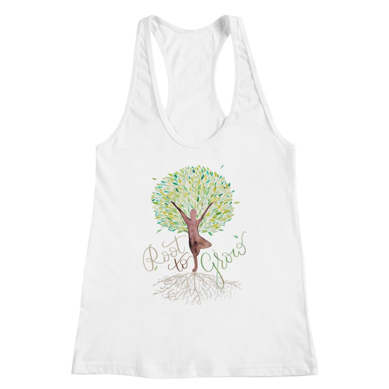 Root to Grow Women's Tank by Panda Grove Studio's Artist Shop