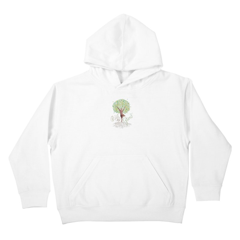 Root to Grow Kids Pullover Hoody by Panda Grove Studio's Artist Shop
