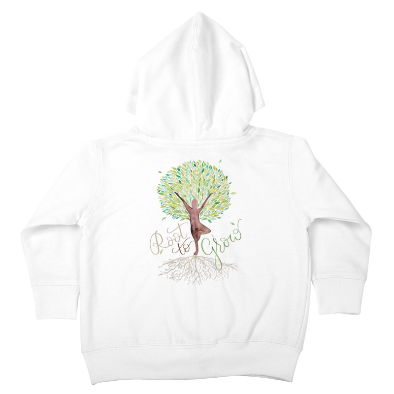 Root to Grow Kids Toddler Zip-Up Hoody by Panda Grove Studio's Artist Shop