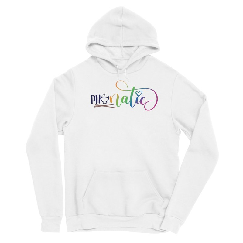 Phonatic Women's Sponge Fleece Pullover Hoody by Panda Grove Studio's Artist Shop