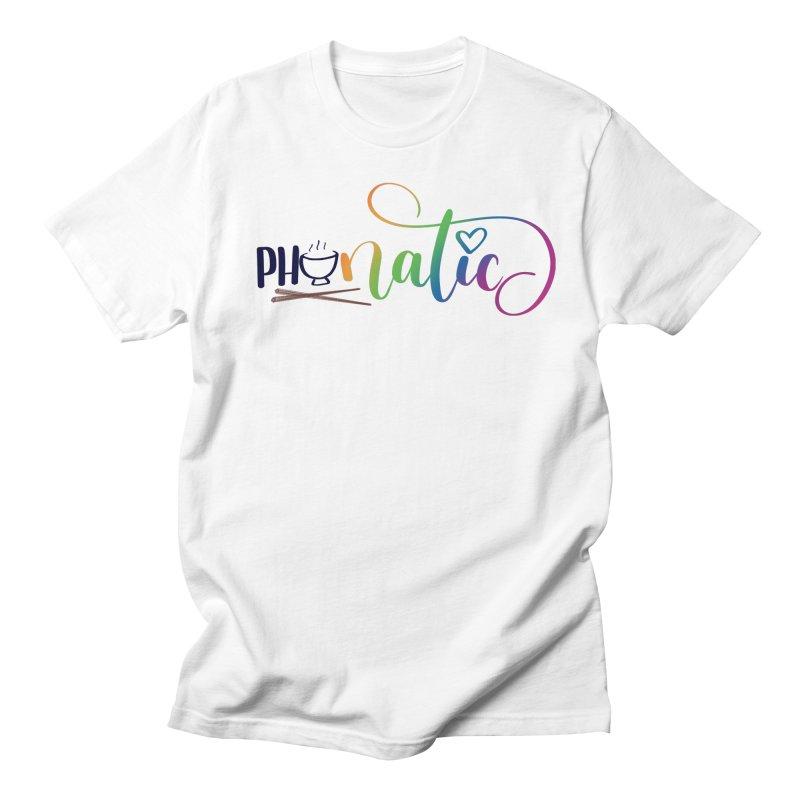 Phonatic Men's T-Shirt by Panda Grove Studio's Artist Shop