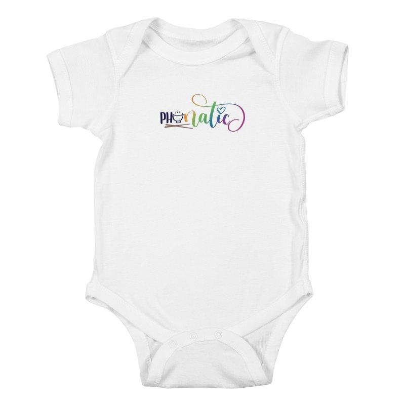Phonatic Kids Baby Bodysuit by Panda Grove Studio's Artist Shop
