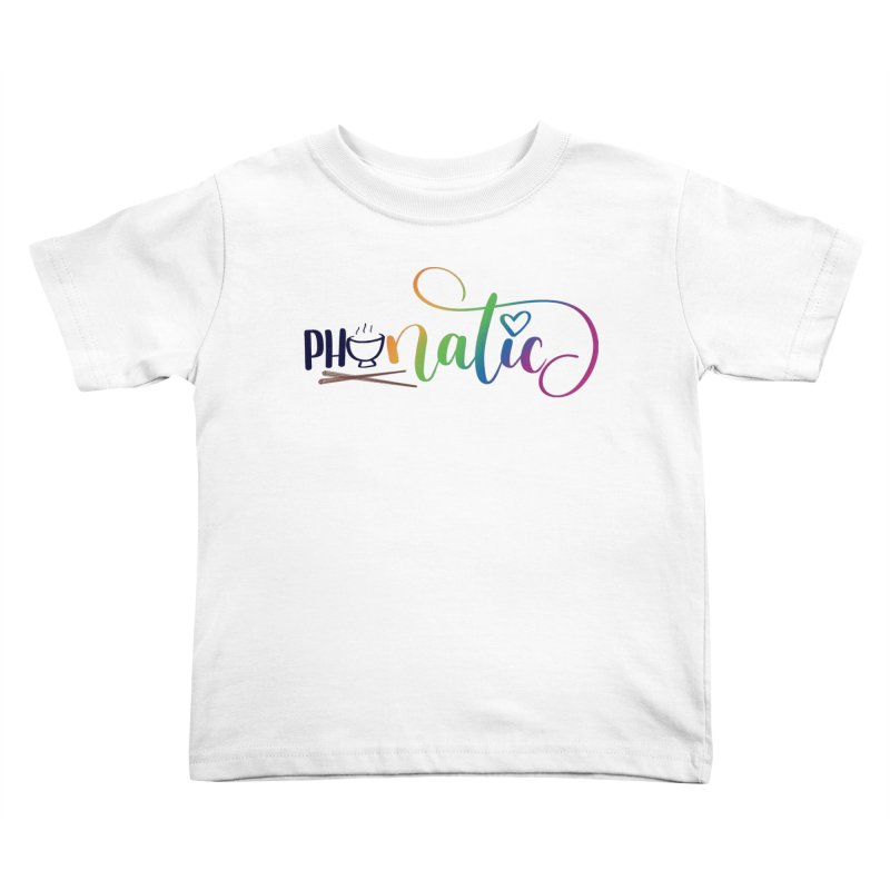 Phonatic Kids Toddler T-Shirt by Panda Grove Studio's Artist Shop