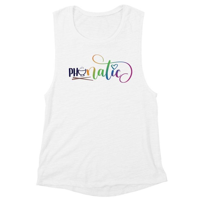 Phonatic Women's Muscle Tank by Panda Grove Studio's Artist Shop