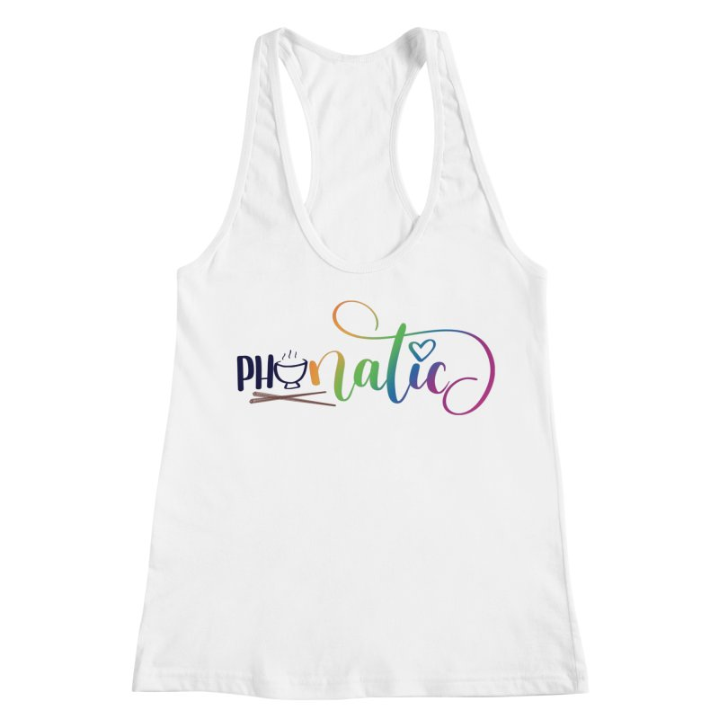 Phonatic Women's Racerback Tank by Panda Grove Studio's Artist Shop