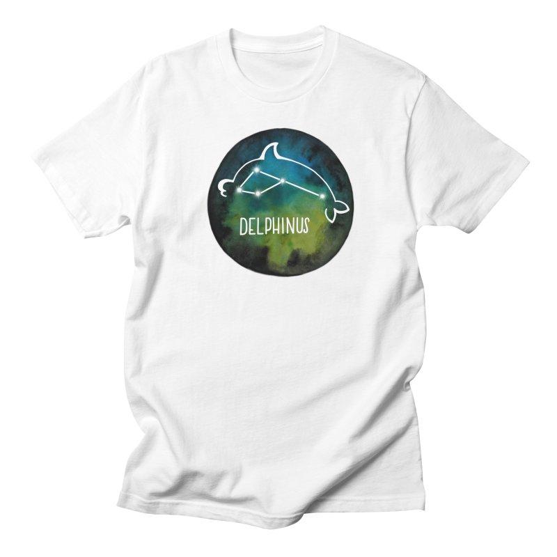 Delphinus Men's T-Shirt by Panda Grove Studio's Artist Shop
