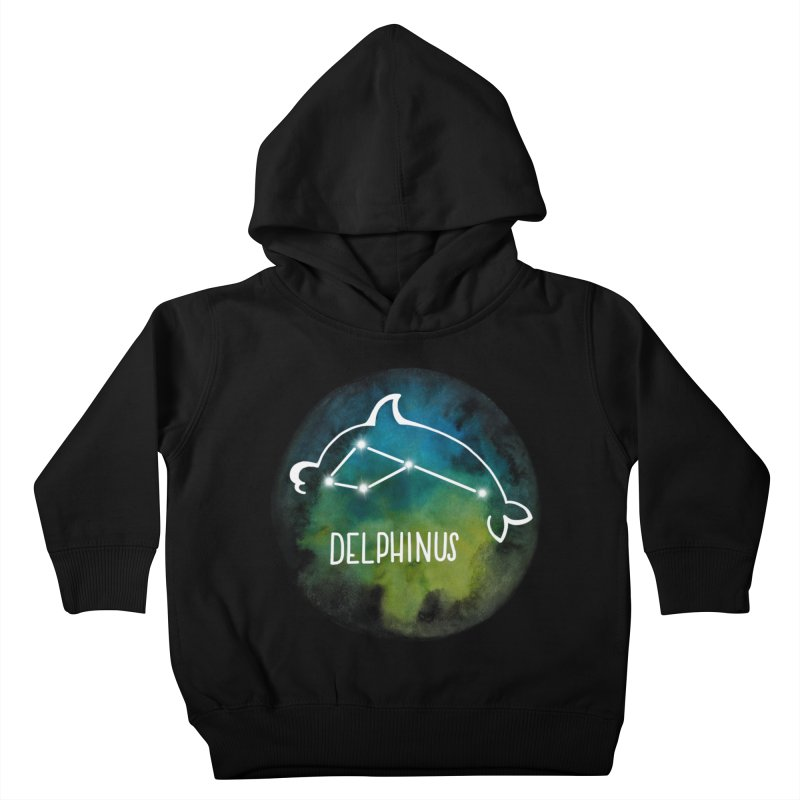 Delphinus Kids Toddler Pullover Hoody by Panda Grove Studio's Artist Shop