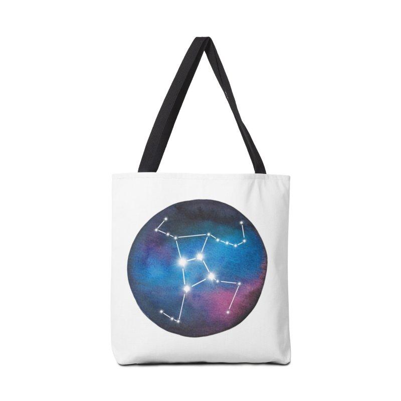 Hercules Accessories Tote Bag Bag by Panda Grove Studio's Artist Shop
