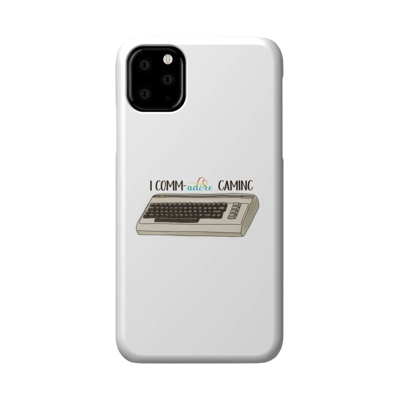 Comm-adore Gaming Accessories Phone Case by Panda Grove Studio's Artist Shop