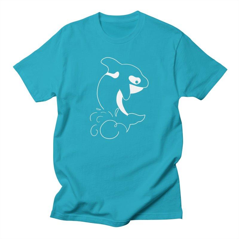 Orca Outreach Men's T-Shirt by Panda Grove Studio's Artist Shop