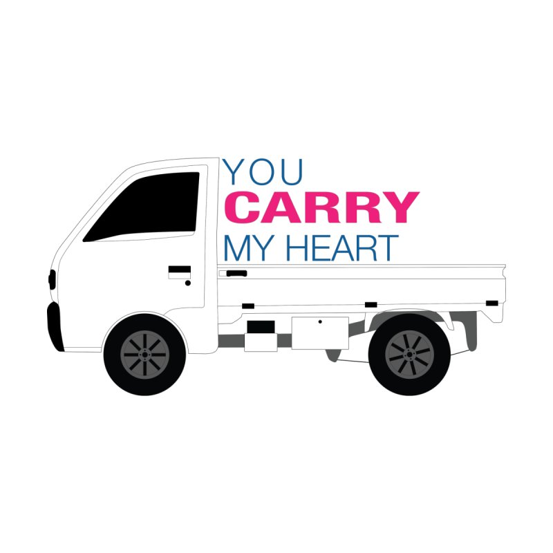 You Carry My Heart Home Mounted Aluminum Print by Panda Grove Studio's Artist Shop