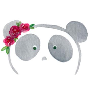 Panda Grove Studio's Artist Shop Logo