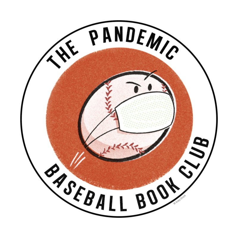 Men's Pandemic Baseball Book Club Logo Men's T-Shirt by The Pandemic Baseball Book Club