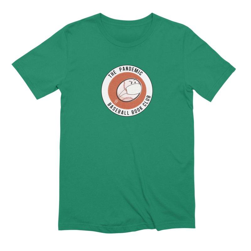 Men's Pandemic Baseball Book Club Logo Men's T-Shirt by The Pandemic Baseball Book Club