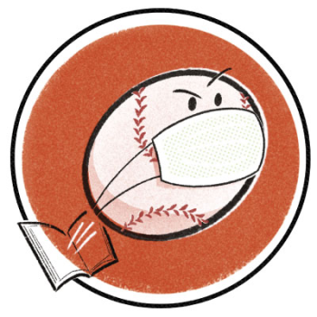 The Pandemic Baseball Book Club Logo