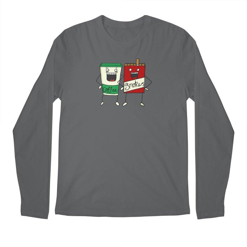 Addiction Friends Men's Longsleeve T-Shirt by panelomatic's Artist Shop