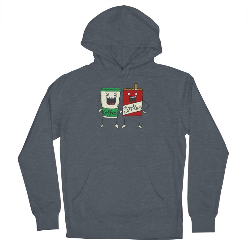 Addiction Friends Men's Pullover Hoody by panelomatic's Artist Shop