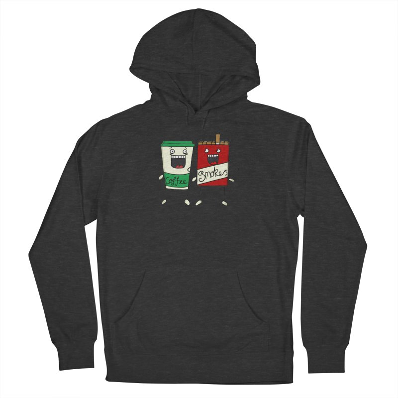 Addiction Friends Men's French Terry Pullover Hoody by panelomatic's Artist Shop