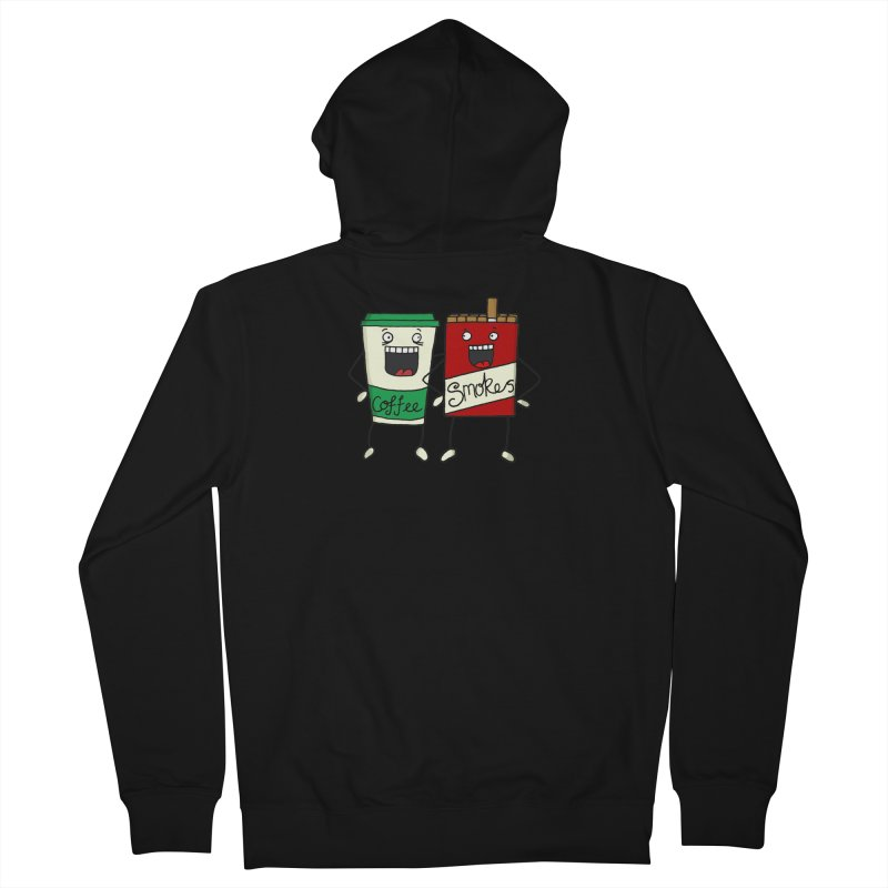Addiction Friends Women's French Terry Zip-Up Hoody by panelomatic's Artist Shop
