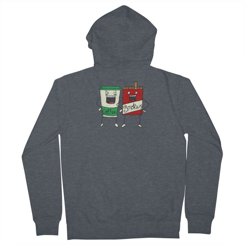 Addiction Friends Men's Zip-Up Hoody by panelomatic's Artist Shop