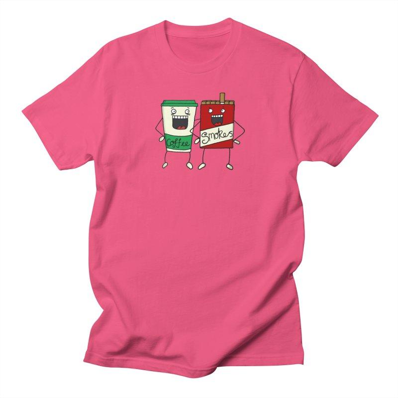 Addiction Friends Men's Regular T-Shirt by panelomatic's Artist Shop