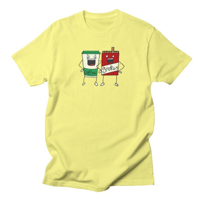 Addiction Friends Women's Regular Unisex T-Shirt by panelomatic's Artist Shop
