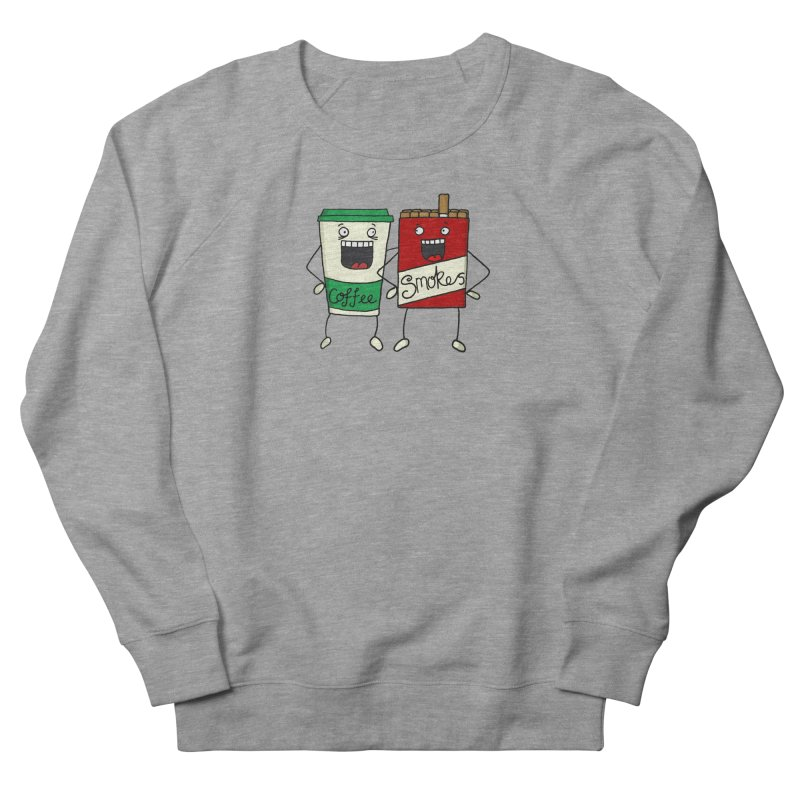 Addiction Friends Women's French Terry Sweatshirt by panelomatic's Artist Shop
