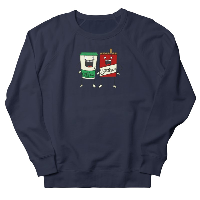 Addiction Friends Men's Sweatshirt by panelomatic's Artist Shop