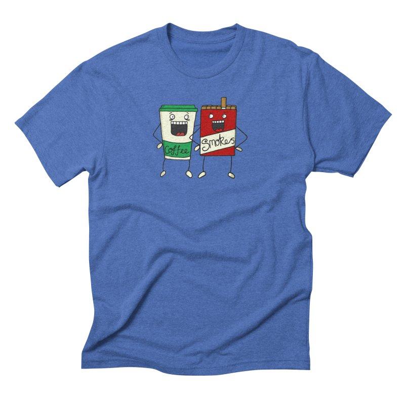Addiction Friends Men's Triblend T-Shirt by panelomatic's Artist Shop