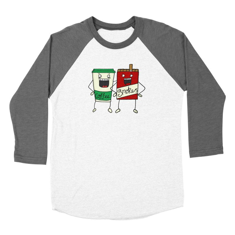 Addiction Friends Men's Baseball Triblend T-Shirt by panelomatic's Artist Shop